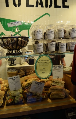 Paninis on display from Farm to Ladle.