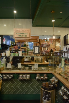 The order counter at Farm to Ladle is full with fresh goods!