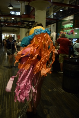 Ponce City Market was a buzz with excitement for the Lantern Parade.